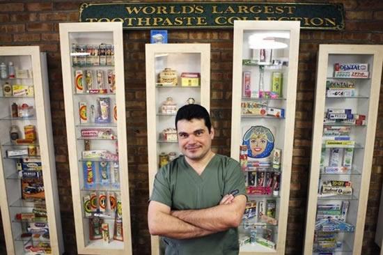 maior coleção creme dental